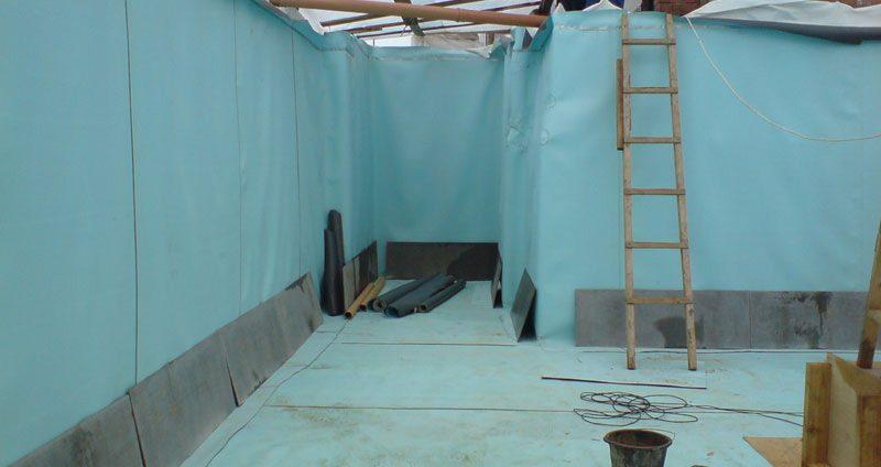 Вертикальная гидроизоляция фундамента здания