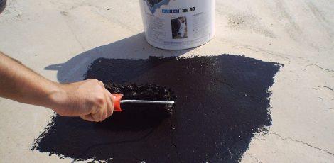 Гидроизоляция полимерными смесями
