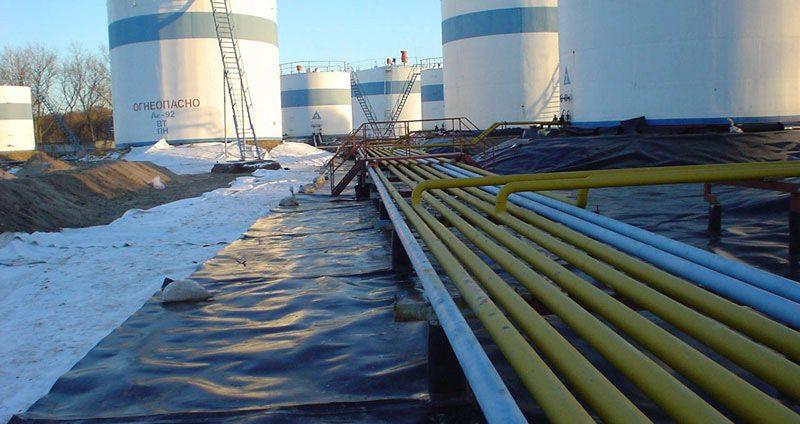 Гидроизоляция нефтяных терминалов