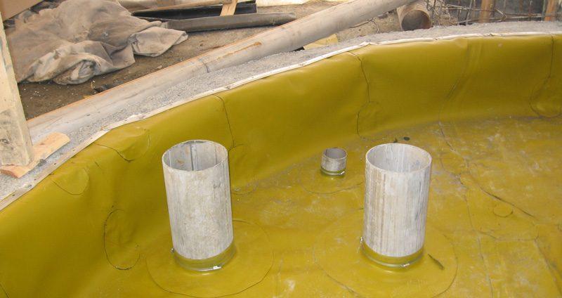 Гидроизоляция фонтана