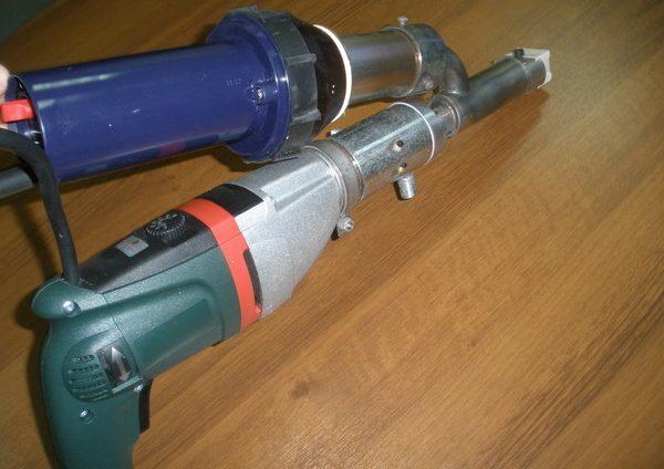Ручной сварочный экструдер (MSK WELDER- V81)