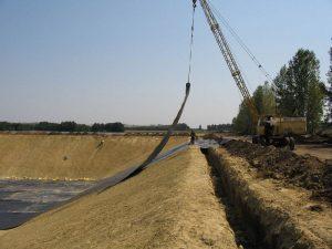 Строительство пожарных водоемов