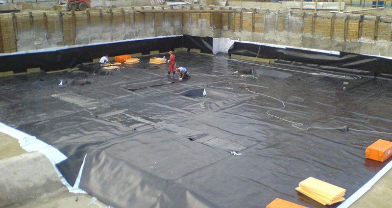 Подземная гидроизоляция зданий и сооружений