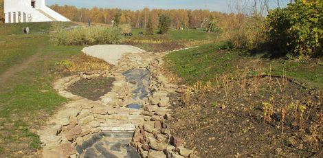 Декоративные ручьи (каналы)