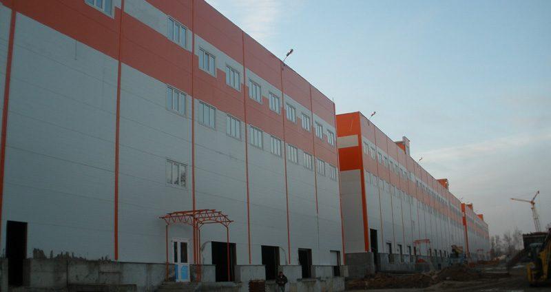 Складской комплекс д. Апаринки